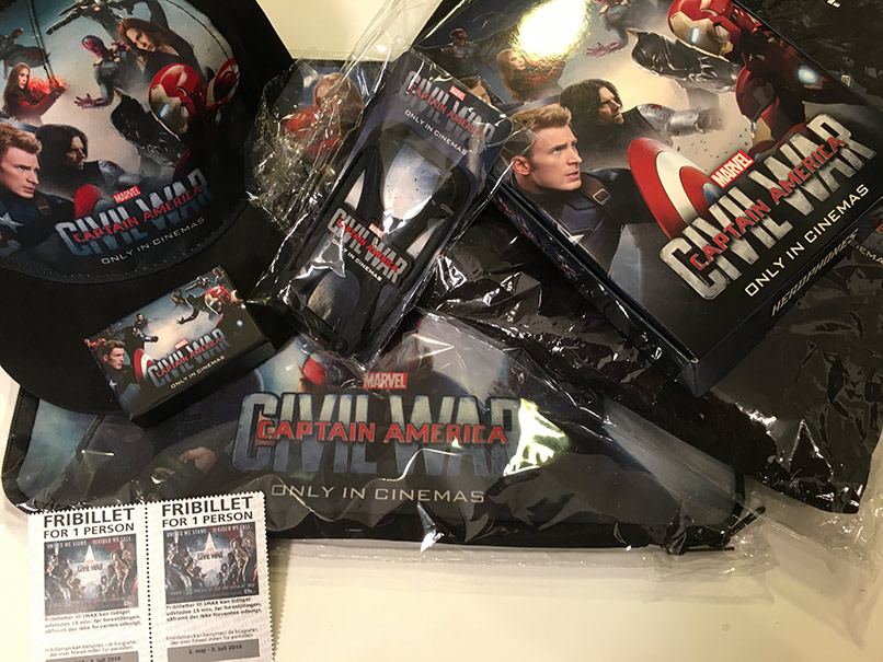 Captain America præmier