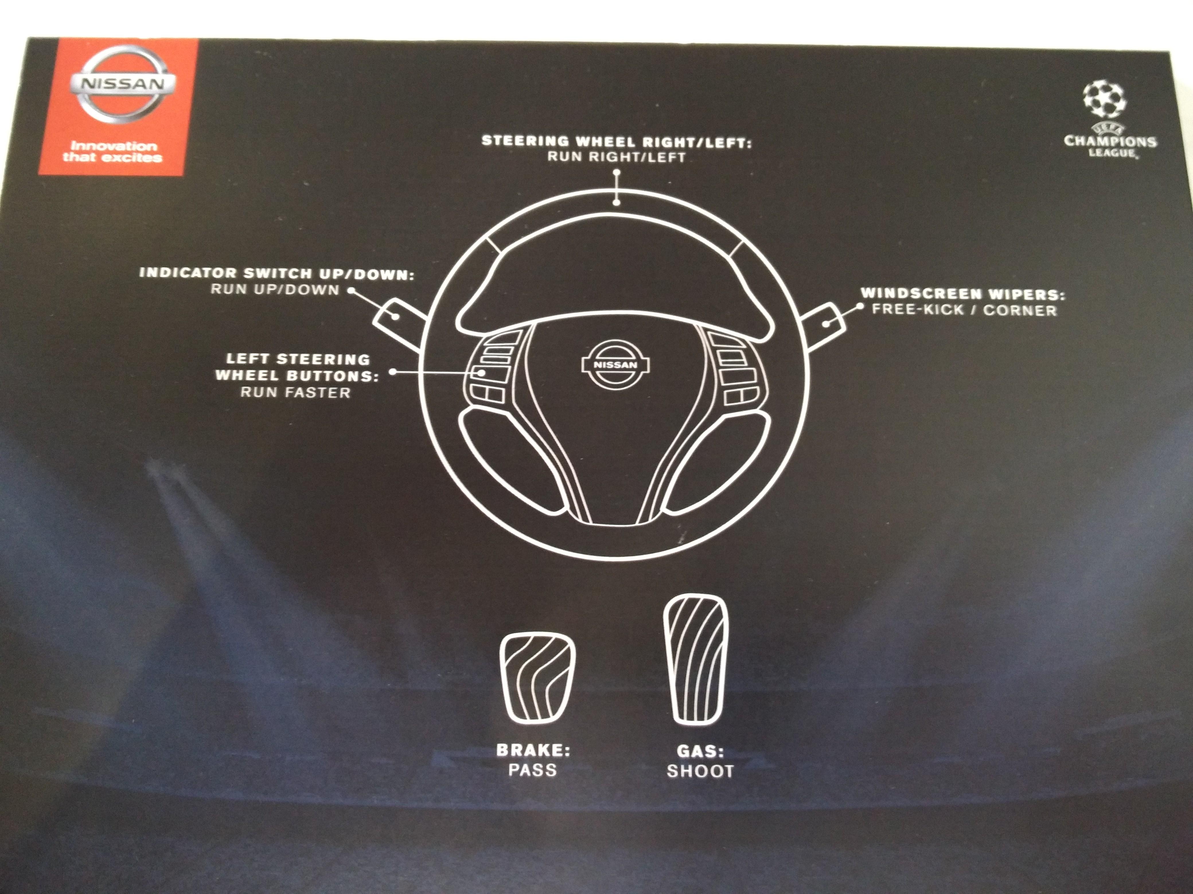hvor sidder pedalerne i en bil