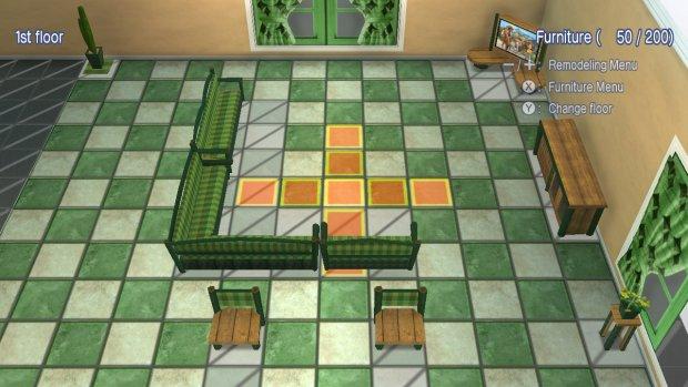 Møbler villa
