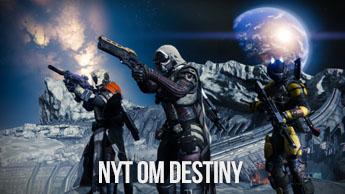Nyt om Destiny