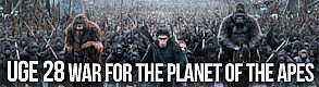 Uge 28 War for planet of the apes