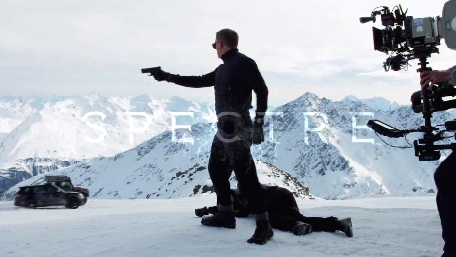 Behind the scenes: James Bond