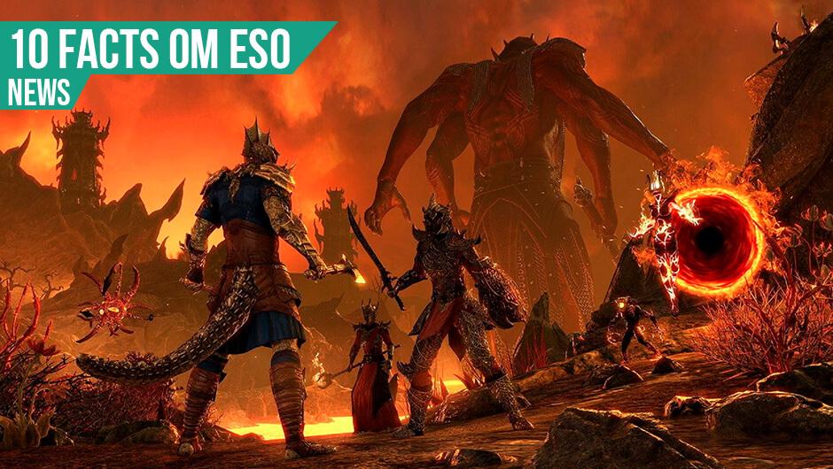 10 Facts om Elder Scrolls Online