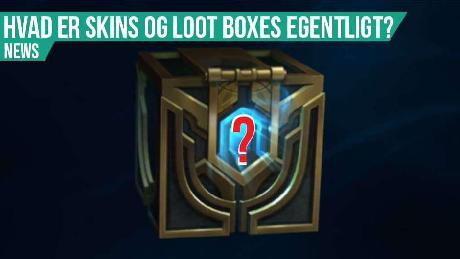 Skins og lootboxes for dummies 101