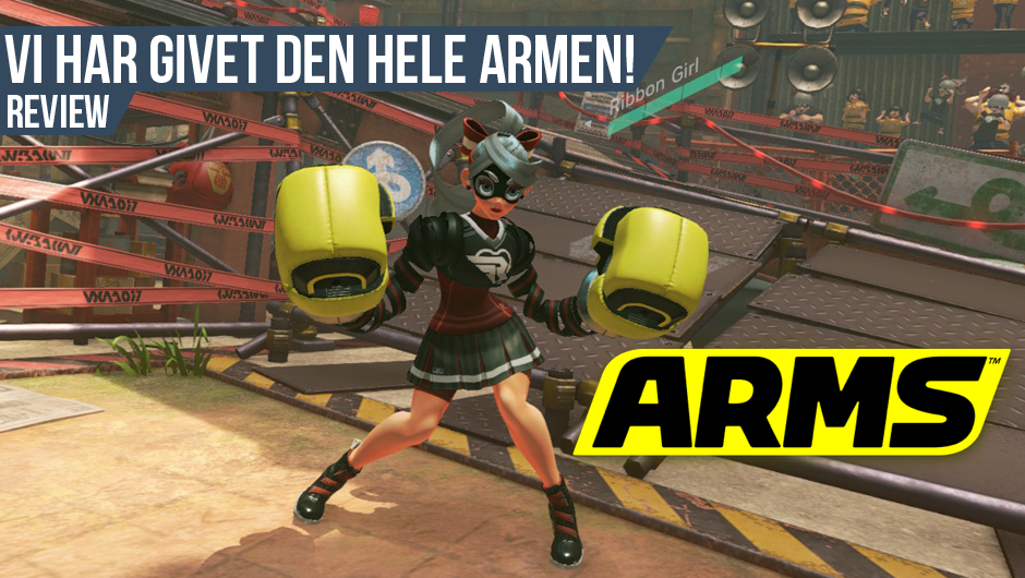 Anmeldelse: ARMS