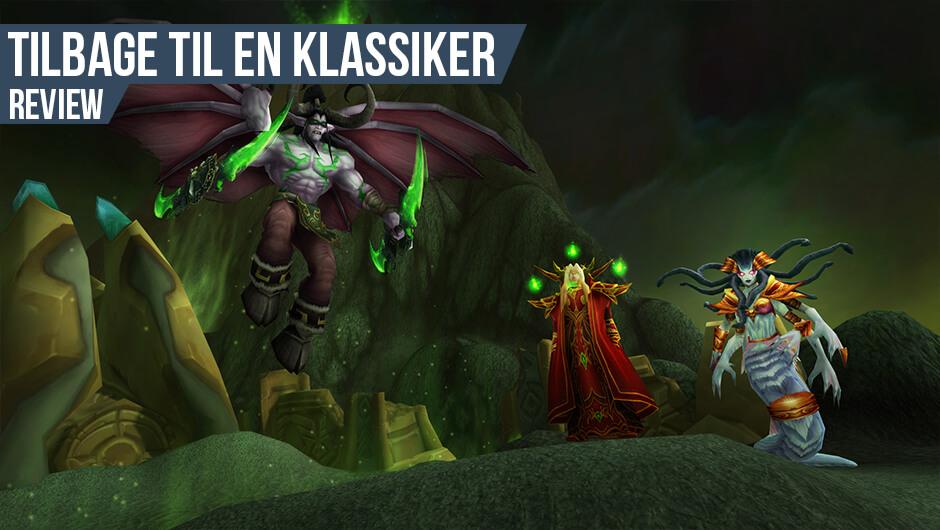 Anmeldelse: World of Warcraft: Burning Crusade Classic