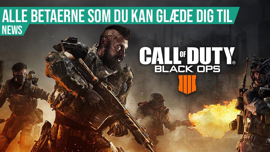 Alle Black Ops 4 betaerne