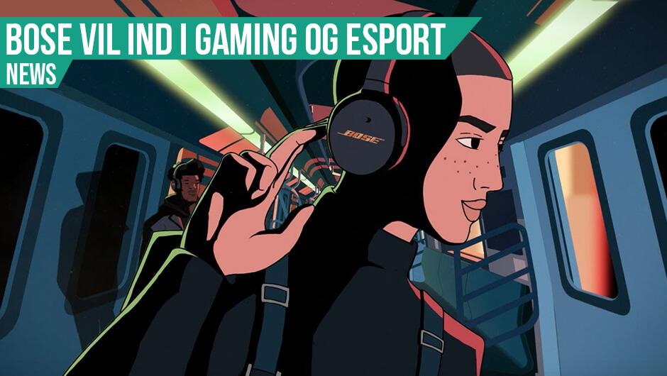 Nyt Bose gaming headset & partner