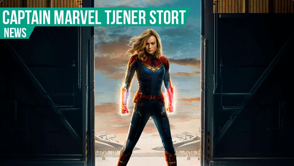 Kæmpe åbning til Captain Marvel