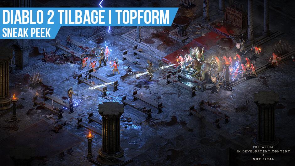 Indtryk fra Diablo II: Resurrected Technical Alpha