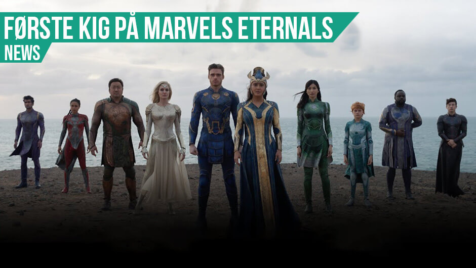 Første trailer til Eternals