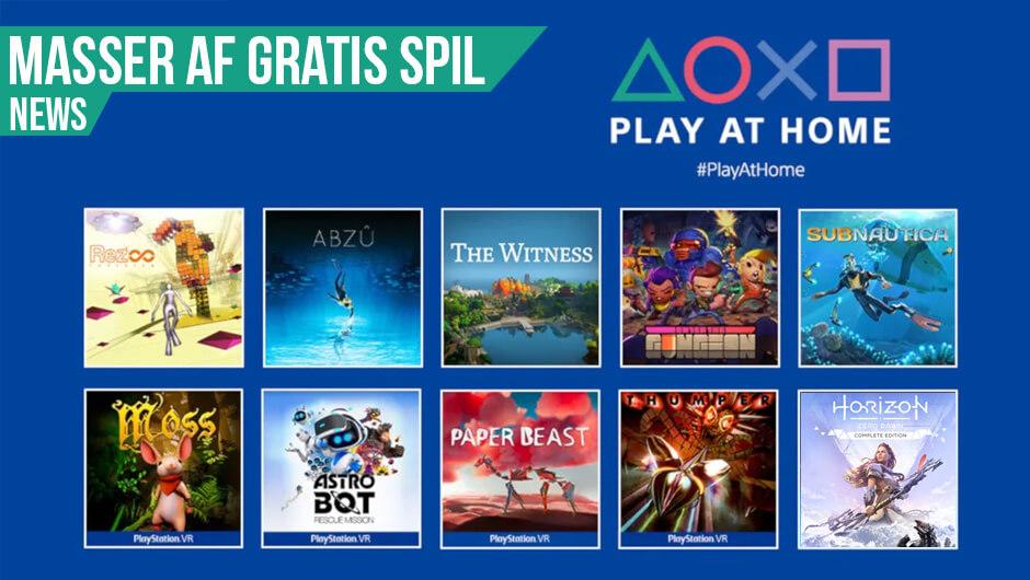 Flere gratis PlayStation spil