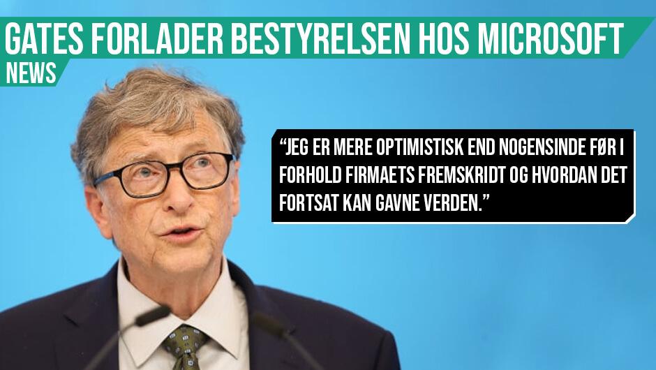 Bill Gates vil redde verden