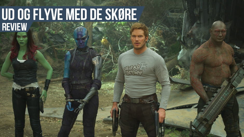 Filmanmeldelse: Guardians of the galaxy Vol 2