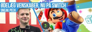 Hands-on med Super Mario Party