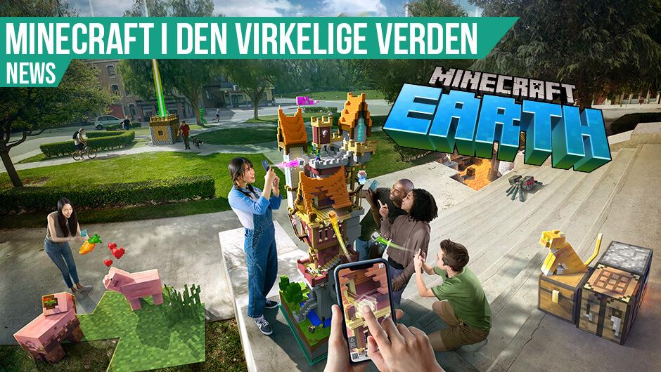 Minecraft Earth er landet i Danmark