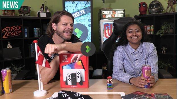 Unboxing: Nintendo Switch OLED