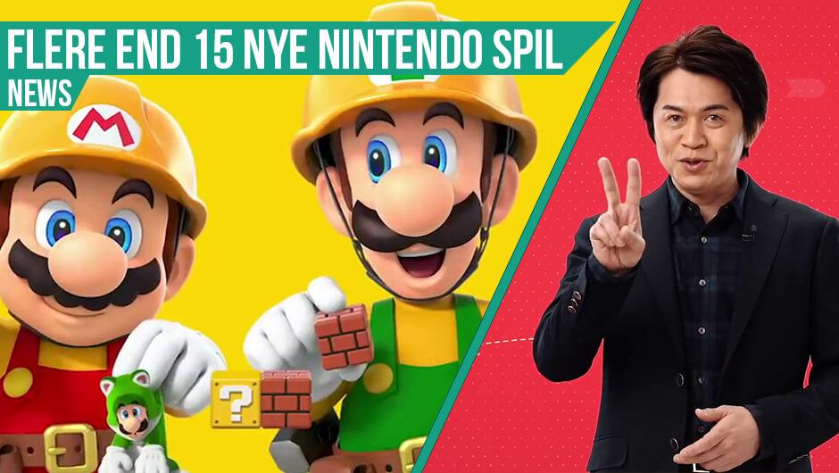Nintendo nyt - Der er fuld fart på!