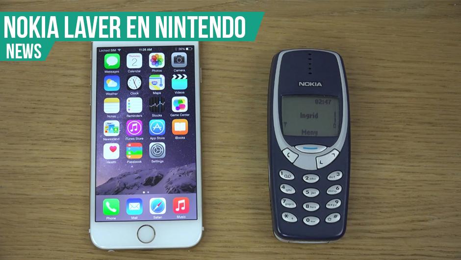 Nokia 3310 er på vej tilbage