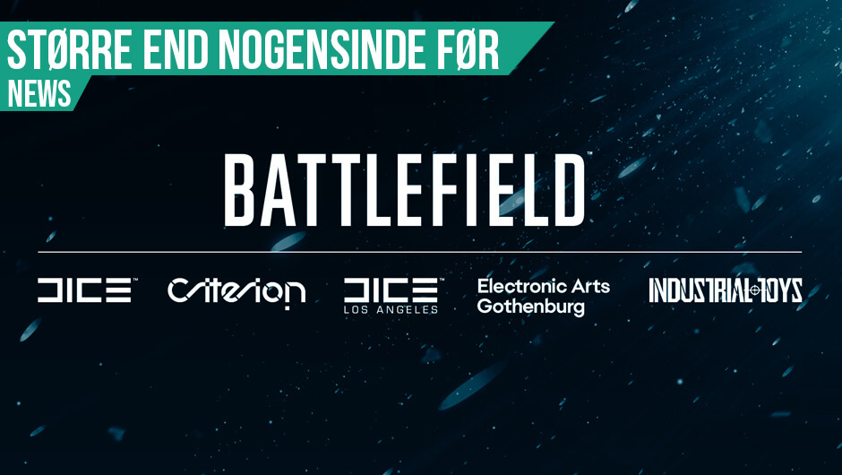 Battlefield spil fremvises snart