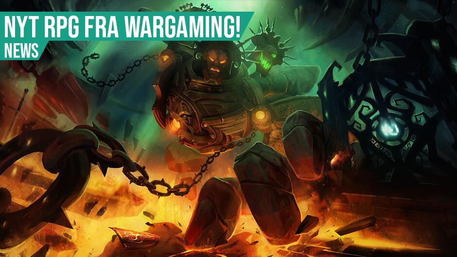 Wargaming udgiver Pagan Online