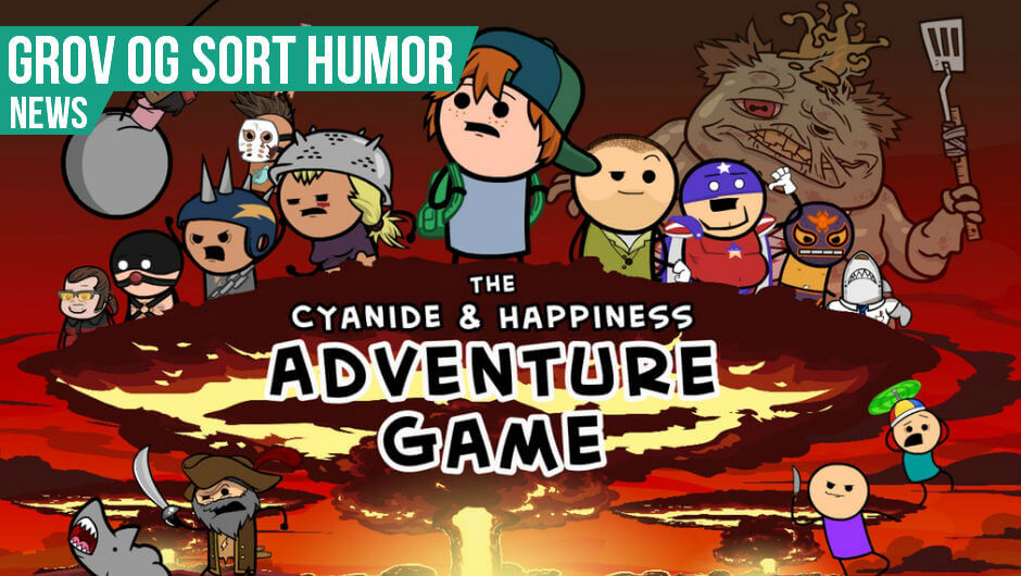Cyanide and Happiness spil