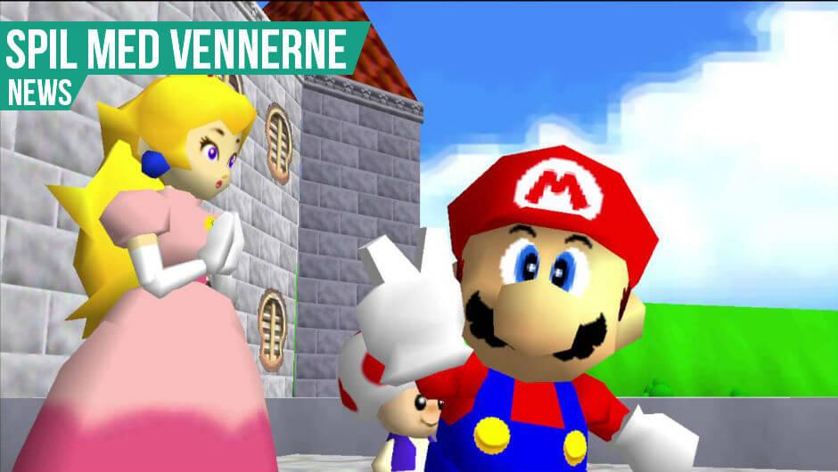 Super Mario 64 multiplayer