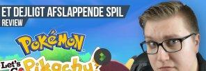 Anmeldelse: Pokémon Let's Go Pikachu/Eevee