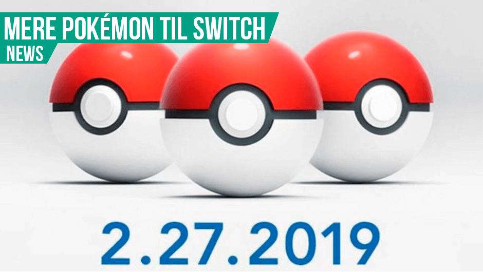 Nye Pokémon spil på vej