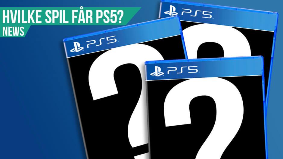PlayStation 5 - Disse spil kommer!