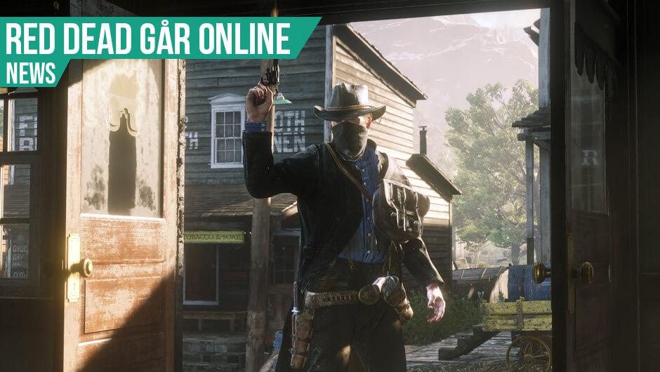 Red Dead går online i morgen