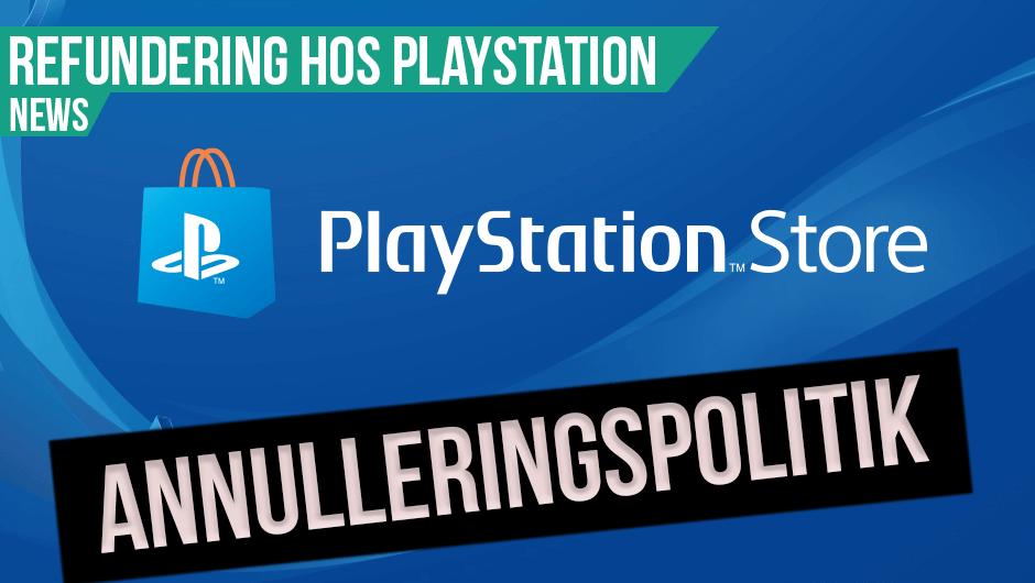 Refundering hos Playstation