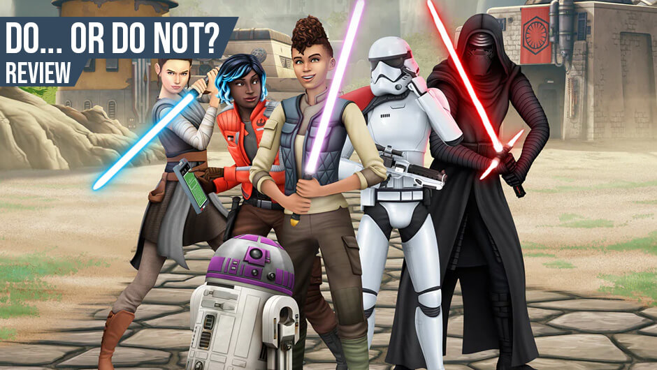 Anmeldelse: The Sims 4 Star Wars: Journey to Batuu