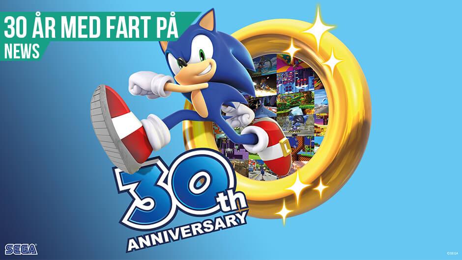 30 år med Sonic
