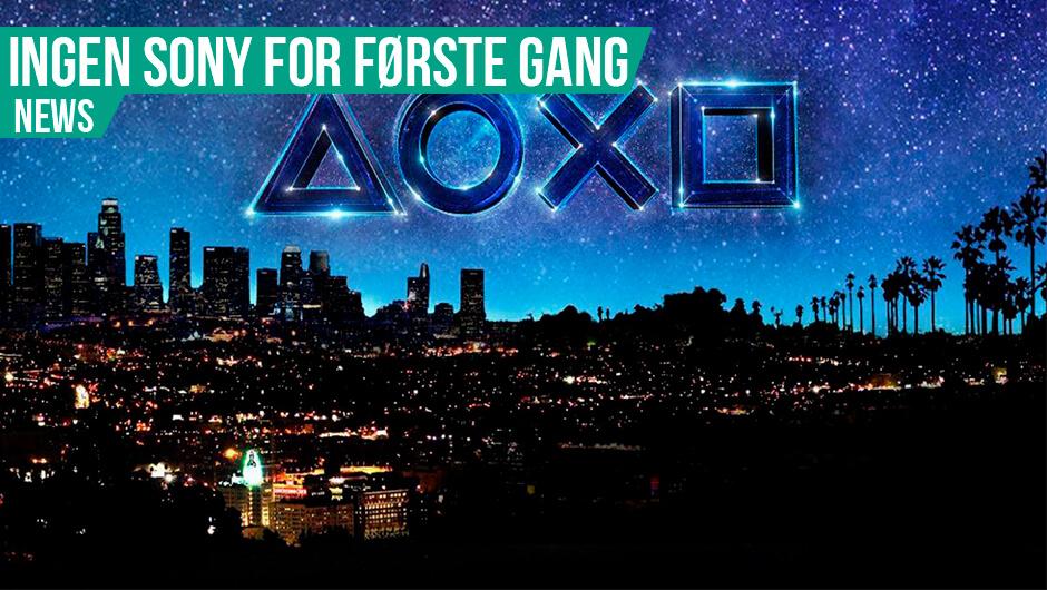 Sony skal ikke med til E3
