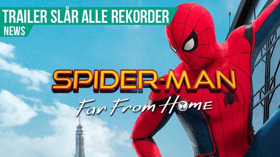 Spider-Man er populær!