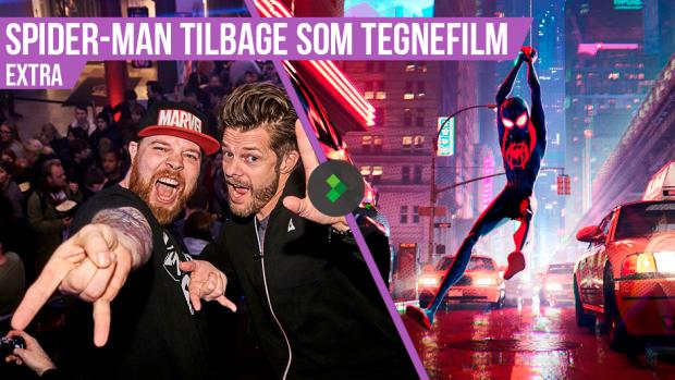Larm for Stan Lee og Spider-Man