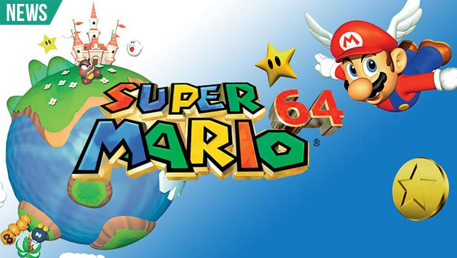 Super Mario 64 som lego