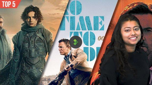 Top 5 filmudgivelser September