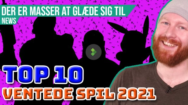 TOP 10: Ventede spil 2021