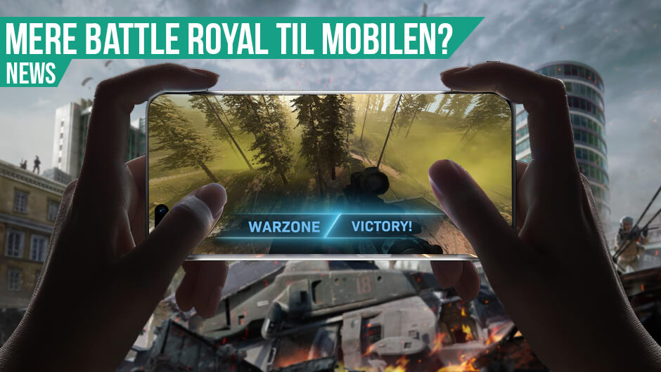 Warzone på vej til mobilen