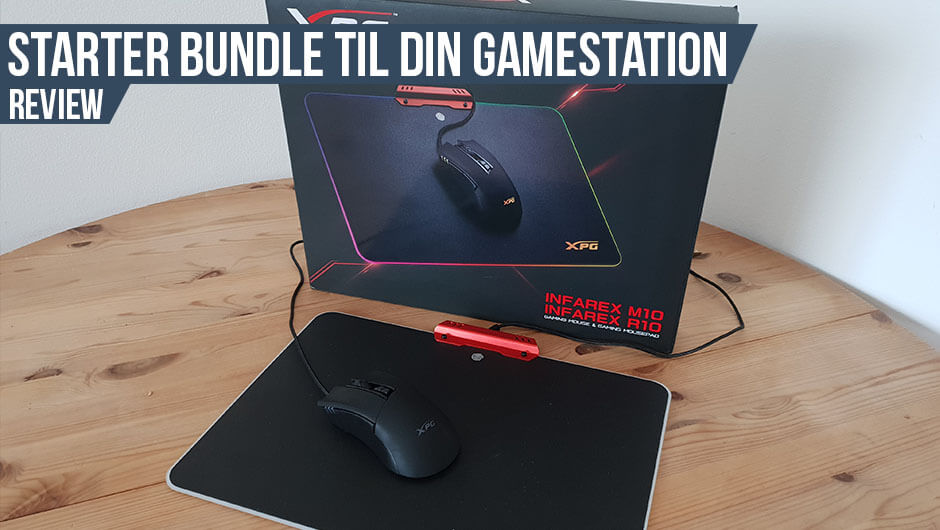 Anmeldelse: XPG Gaming Mouse & Gaming Mousepad