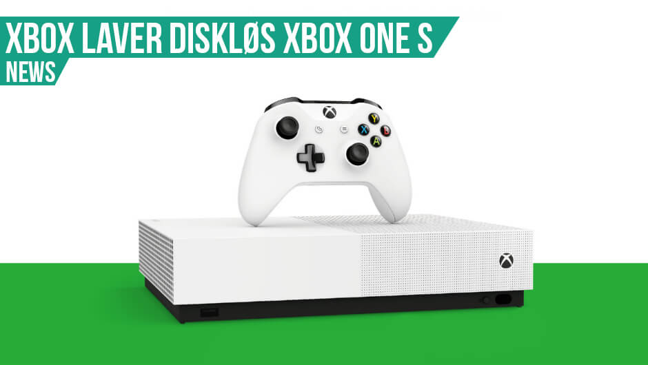 Xbox One S All-Digital annonceret