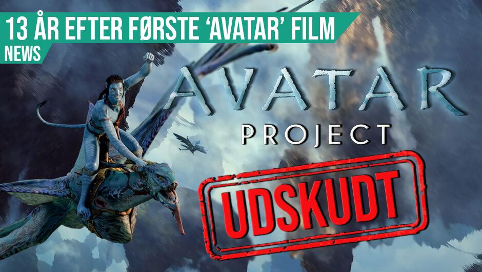 Avatar spillet forsinkes