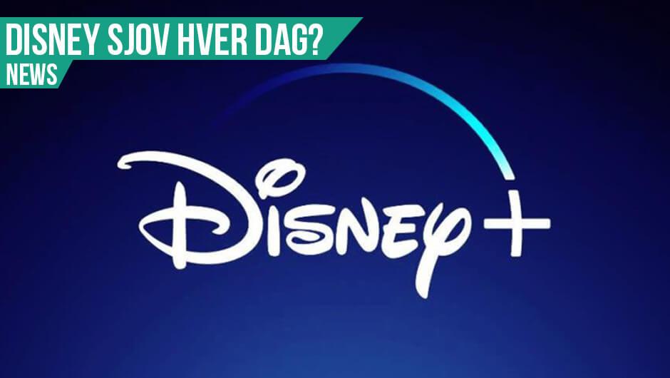 Disney indtager Danmark