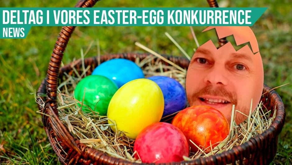 Konkurrence: Easter-eggs