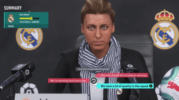 FIFA manager i spillet