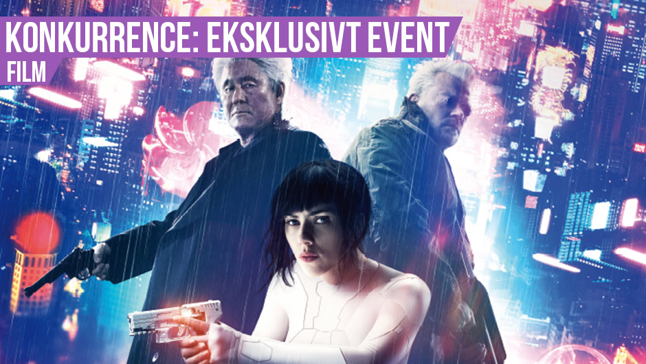 Eksklusivt Ghost in the Shell event