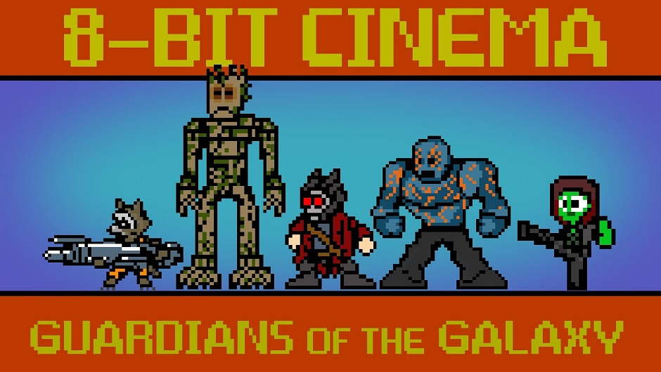 Guardians of the Galaxy i 8-bit