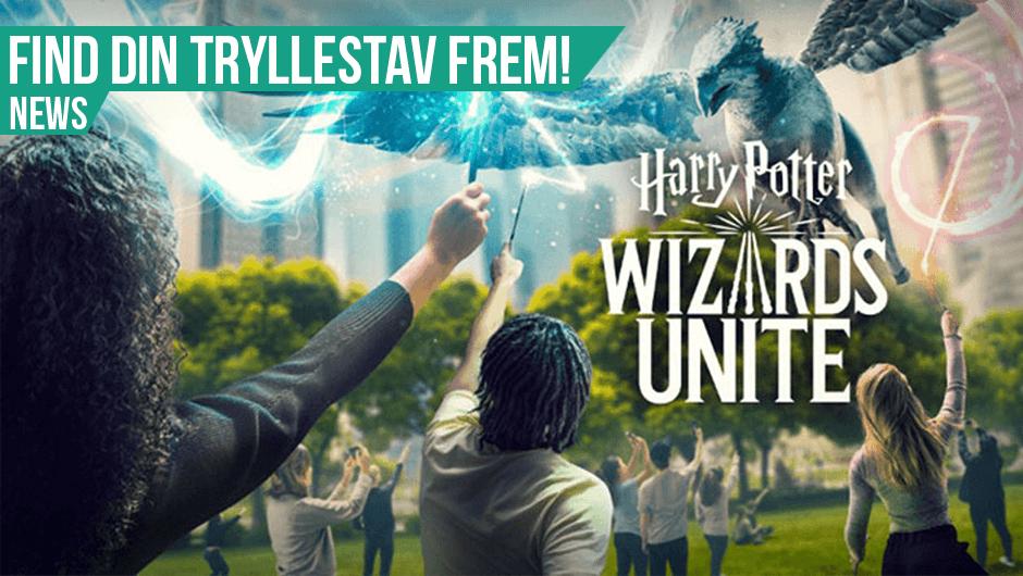 Harry Potter Wizards Unite er ude nu!